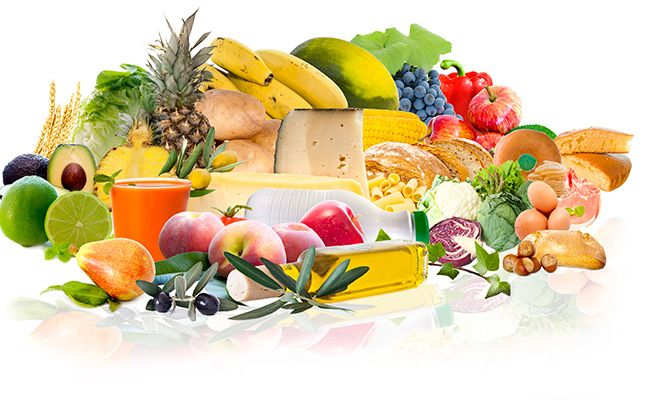 Правило 2 - вибір продуктів харчування