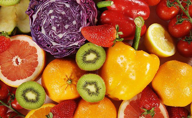 Правило 4 - багато овочів і фруктів