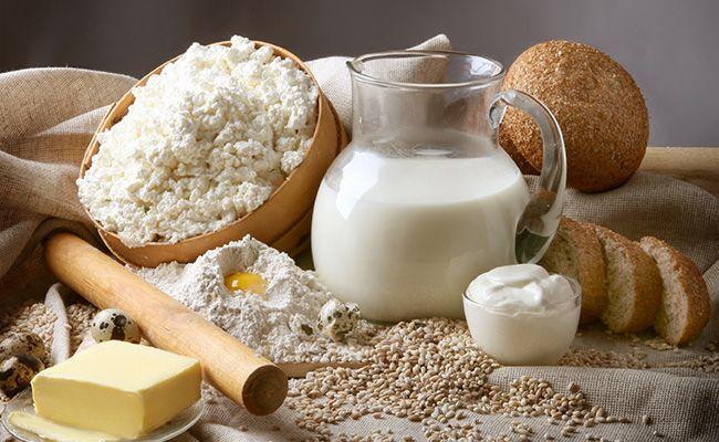 Правило 5 - вживання молочних продуктів