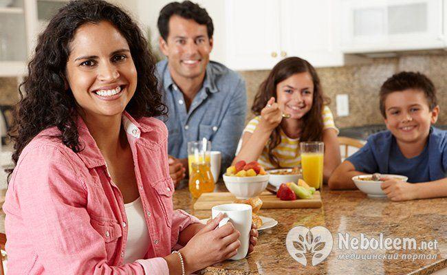 Сніданок корисний для шлунка