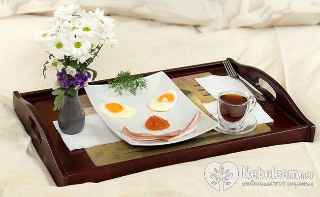 Смачний сніданок - гарний настрій