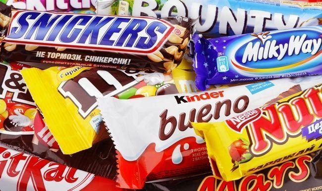 Шоколадні батончики