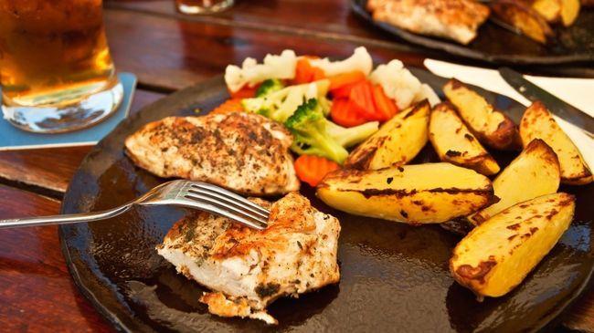 Переважання жирної їжі протягом дня