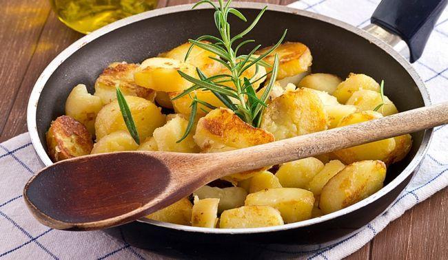 Картопля і білий рис