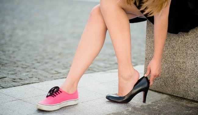 Правило здорового хребта: правильна взуття