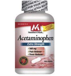 Ацетамінофен
