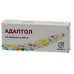 таблетки Адаптол