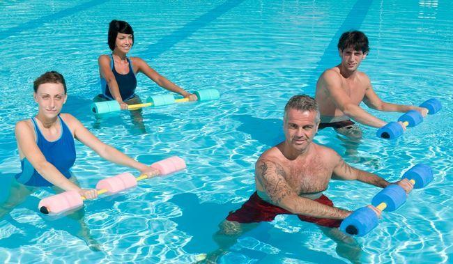вправи аквааеробіки