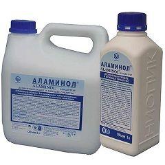 Форма випуску Аламінола - рідкий концентрат