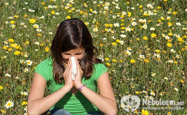 Алергія на рослини