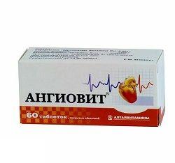 Вітаміни Ангіовіт в таблетках