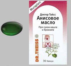 Анісова масло доктор тайсс