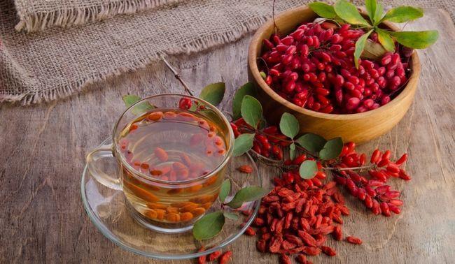 Чай з плодів барбарису