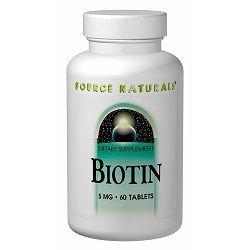 Вітамінний засіб Біотин в таблетках