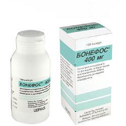 Капсули Бонефос 400 мг