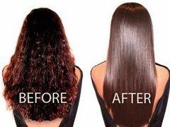 Бразильське вирівнювання волосся - процедура розгладження волосся за допомогою кератину