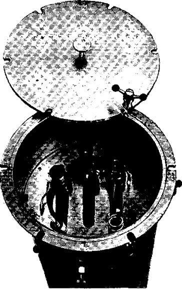 Камера для газової стерилізації бронхофіброскопія
