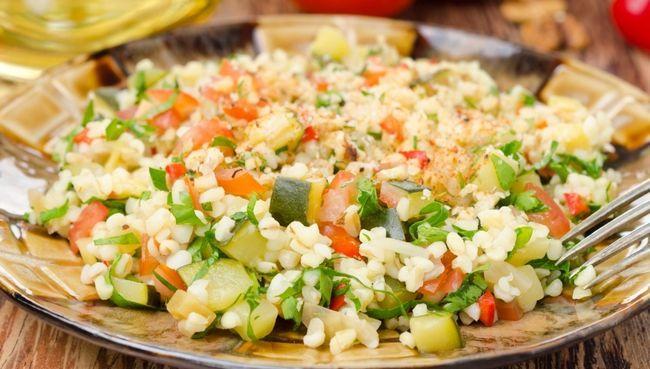 Салат з булгуром