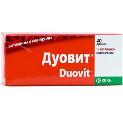 Вітамінно-мінеральний комплекс Дуовит
