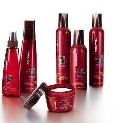 Goldwell - серія засобів для хімічного випрямлення волосся