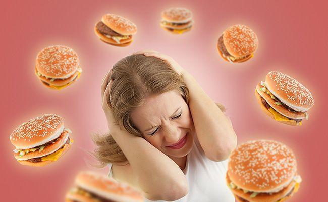 Чи не заїдайте стрес їжею