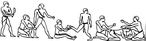 масаж в Стародавньому Єгипті