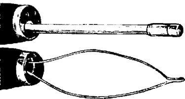 Коагуляційна петля і точений гнучкий електрод для ендобронхіальних електрохірургічних маніпуляцій