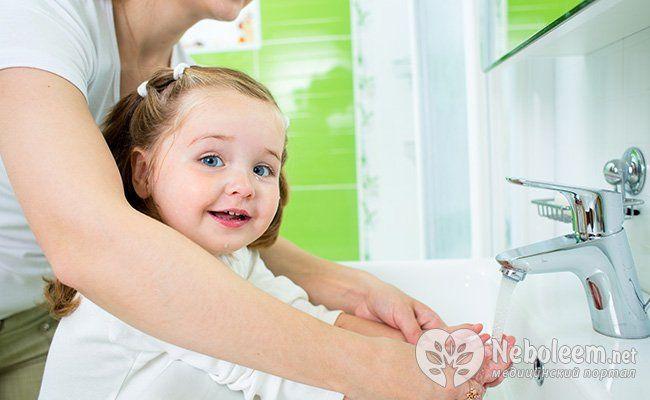 Коли і як мити руки