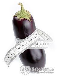 Калорійність баклажана - 24 ккал на 100 грам
