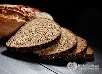 Калорійність чорного хліба