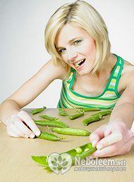 Калорійність зеленого горошку, його корисні для організму властивості