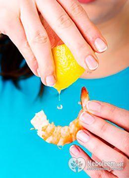 За кількістю калорій креветки схожі з нежирними сортами риби