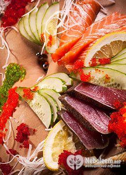 Невисока калорійність лосося і відсутність вуглеводів дозволяють використовувати цю рибу в різних дієтах