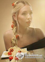 Калорійність спагетті - 345 ккал на 100 г