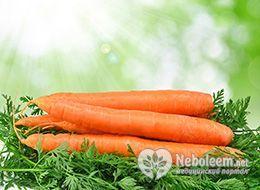 Калорійність моркви