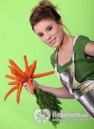 Морквяна дієта - ефективність та рекомендації