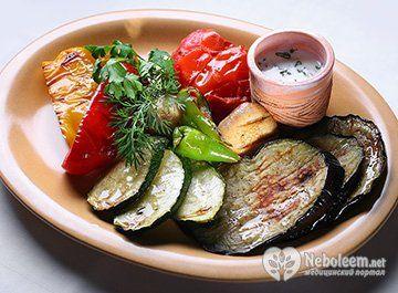 Калорійність овочів