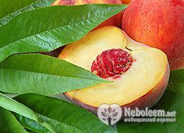 Калорійність персиків - 45 ккал на 100 грам