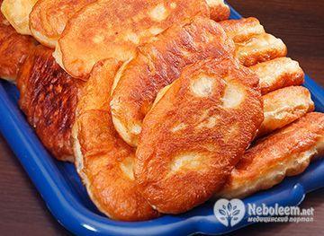 Калорійність печених пиріжків з капустою і картоплею