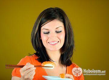 Суші дієта - рекомендації дієтологів і ефективність