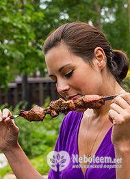 Калорійність відвареної свинини і вживання її в дієтичному меню