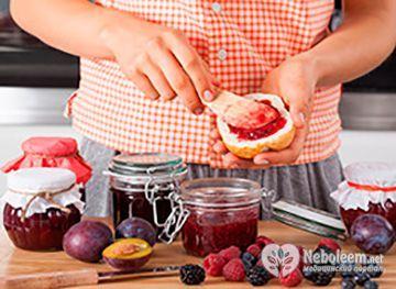 Скільки калорій в варення в залежності від рецепту