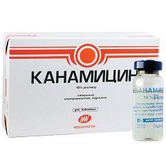 Антибактеріальний препарат канаміцин