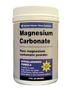 Карбонат магнію в упаковці