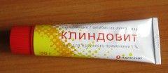 Кліндовіт - мазь