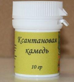 Ксантанова камедь - харчова добавка Е415