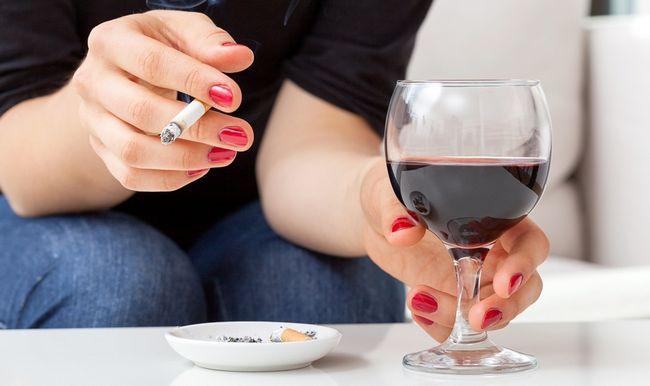 Механізм впливу куріння і алкоголю на організм людини