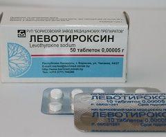 Льовотіроксин натрій - синтетичний гормон щитовидної залози
