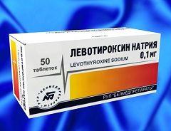 Лікарська форма левотироксині - таблетки