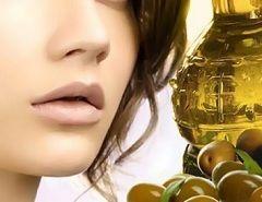 Маски з оливковою олією